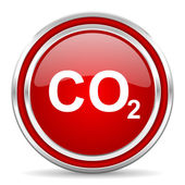 Carbon dioxide icon — Stock Photo