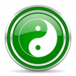 Ying yang icon — Stock Photo #30820061