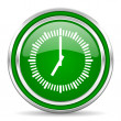 Clock icon — Stock Photo #30820107