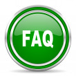 Stock Photo: Faq icon