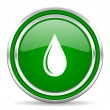 Water drop icon — Stock Photo #30820571