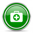 Stock Photo: First aid kit icon