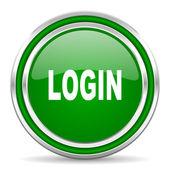 Login icon — Stock Photo