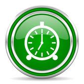 Icono de reloj despertador — Foto de Stock