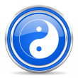 Ying yang icon — Stock Photo #30873419