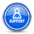Support icon — Stock Photo #30874507