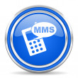 Mms icon — Stock fotografie #30875837