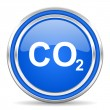Carbon dioxide icon — Stock Photo #30875949