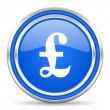 Stock Photo: Pound icon