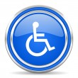 Accessibility icon — Stock Photo