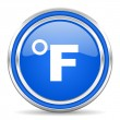Fahrenheit icon — Stock Photo #30876677