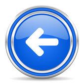 Arrow left icon — Stock Photo