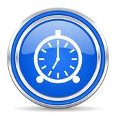 Väckarklocka-ikonen — Stockfoto