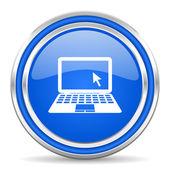 Notebook icon — Stock Photo
