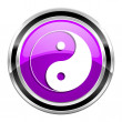 Ying yang icon — Stock Photo #31040373