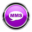 Mms icon — Stock fotografie #31040815