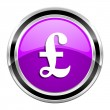 Stockfoto: Pound icon