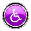 Accessibility icon — Stock Photo #31041239