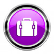 Baggage icon — Stock Photo