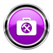 Toolkit icon — Stock Photo #31058343