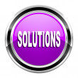 Solutions icon — Stock Photo #31058383