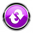 Rotate icon — Stockfoto