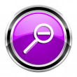 Magnification icon — Foto Stock