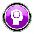 Mind icon — Stock Photo #31058913