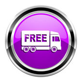 Free delivery icon — Stock Photo