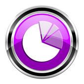 Diagram icon — Stock Photo