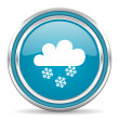 Snowing icon — Stock Photo #31171337