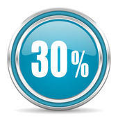30 percent icon — Stock Photo