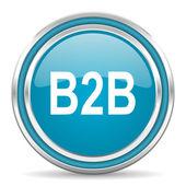 B2b icon — Foto de Stock