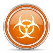 Biohazard icon — Stock Photo #31317989