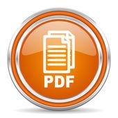 Pdf icon, — Stock Photo