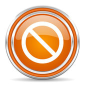 Access denied icon — Stock Photo