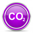 Carbon dioxide icon — Stock Photo #31490517