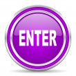 Enter icon — Stockfoto #31496279