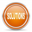 Solutions icon — Stock Photo #31497471