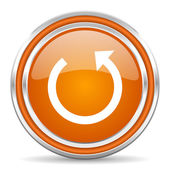 Rotate icon — Stock Photo