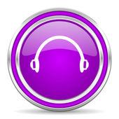 Headphones icon — Stockfoto