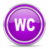 Toilet icon — Stock Photo