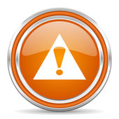 Warning icon — Foto de Stock
