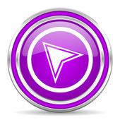 Navigation icon — Stock Photo