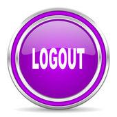 Logout icon — Stock Photo