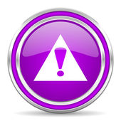 Exclamation sign icon — Stock Photo