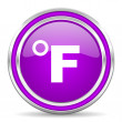 Fahrenheit icon — Stock Photo #31510789