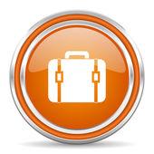 Torba ikona — Zdjęcie stockowe