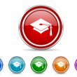 Education icon — Stock Photo #31646221