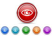 Eye icon — Stock Photo